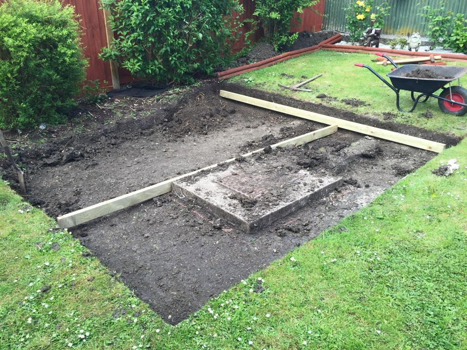 Garden decking design part 1 for Decking in back garden