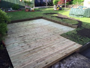 Garden decking design part 2